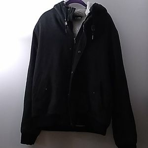 DIVIDED H&M CHARCOAL JACKET